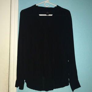 Tops - Black Worthington Blouse